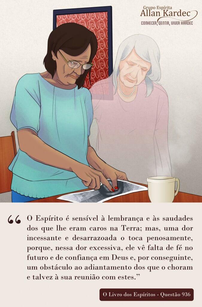 Espiritismo em imagens: Perda dos Entes Queridos - Projeto